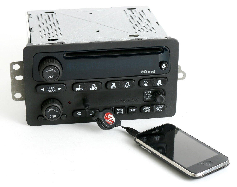 Chevy 2000-05 Car Radio AM FM CD Player w Upgraded Aux 3.5mm mp3 Input 10318434