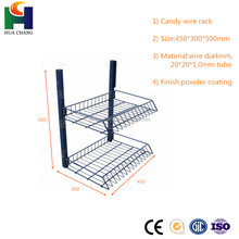 Factory Direct Supply Custom Snoep Display Rack, Draad Snoep Display, Snoep Display Planken