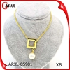 wholesale pendant bulk sale gold plated jewelry pearl necklace
