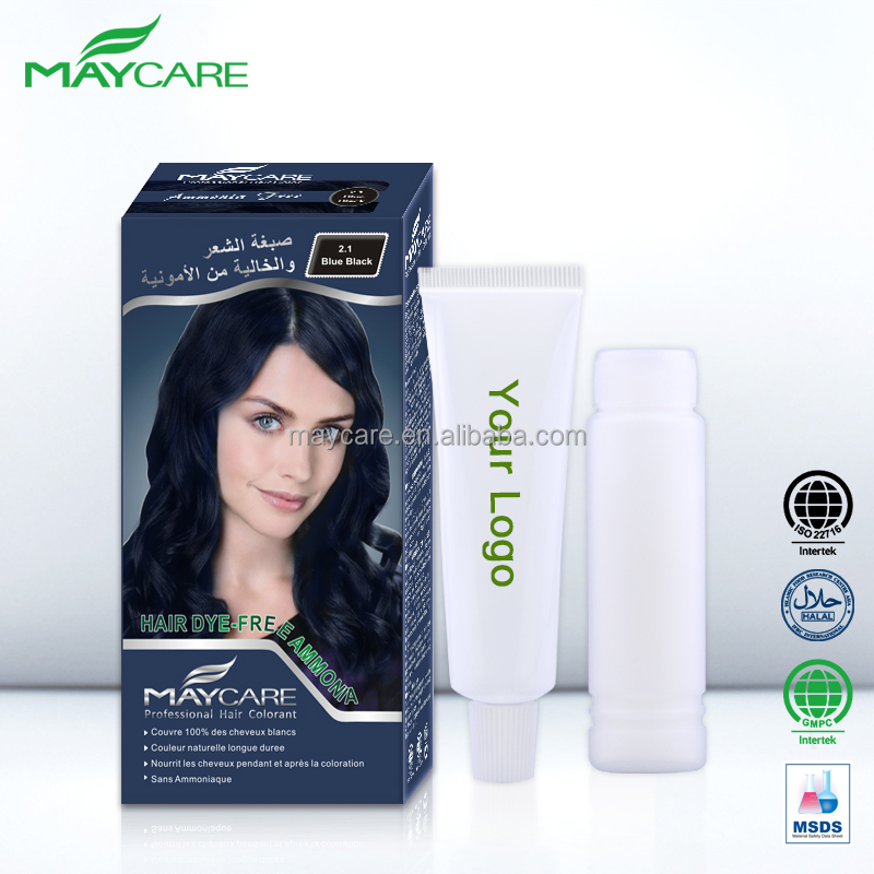 Oem Factory 2017 Best Selling Products Halal Organic Hair Color