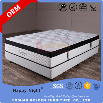 High End 5 Star Hotel Bedroom Mattress Memory Foam Mattress CF16-05