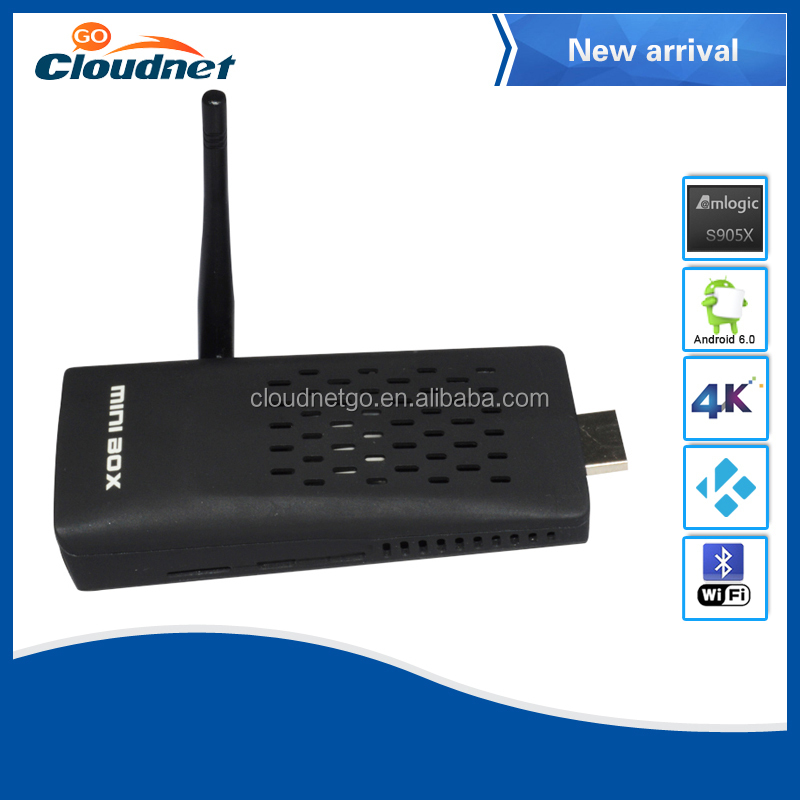 Factory price Amlgoic S905X Amazon fire tv stick 1G/8G Android6.0 MINI PC kodi preinstall Android tv dongle with remote