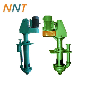 Vertical shaft driven slurry pump for the transfer of high density slurry
