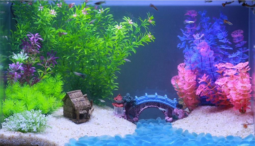 Wholesale Fish Tank Decoration Aquarium Gravel View Aquarium Gravel