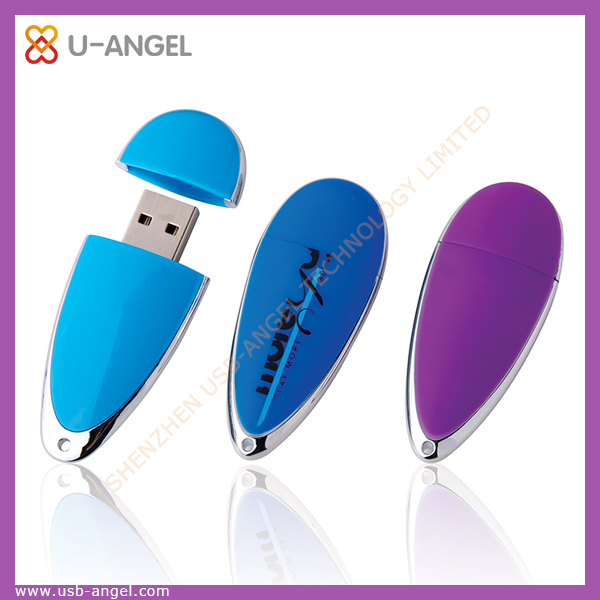 high cost-effective water drop shape bulk 1gb,2gb usb flash drives