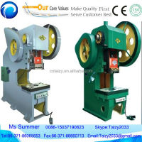 Sheet metal hole punch machine Mini laminate sheet metal hole punch machine with CE&ISO price