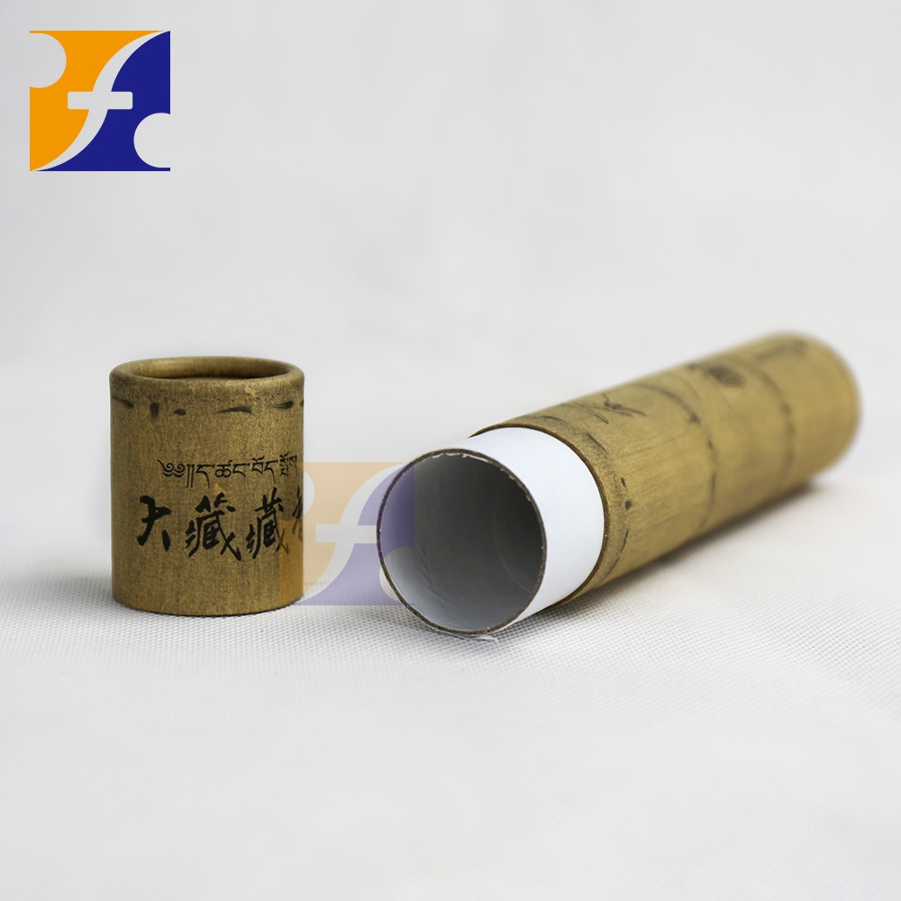 New product 2017 custom t shirt kraft tube packaging For T-shirt,cloth, dress, apperal and garments