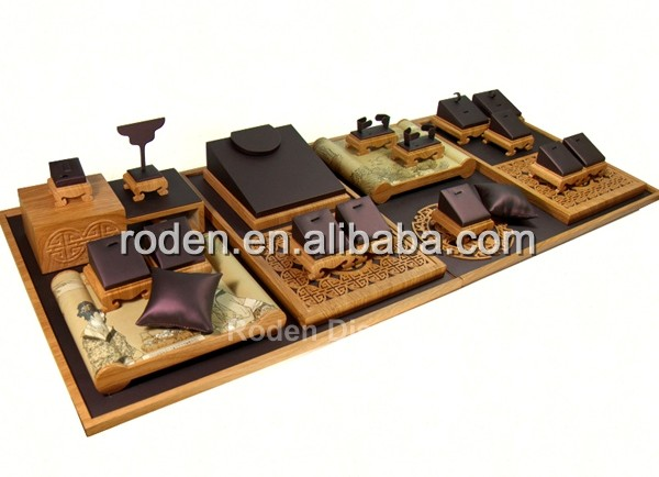 Hot Koop En Charmant Custom-Made Sieraden Display Bustes En Sieraden Display Lade