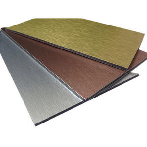 Gold Color Coated Aluminum Sheet For Decoration