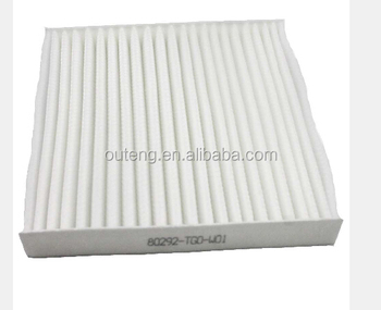 Auto Cabin Filter Manufacturer 80292 TG0 W01 For HONDA ACCORD