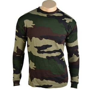 Raglan Long Sleeve Lightweight dry fit Military Camo T Shirt for men, camo t shirt cheap wholesale
