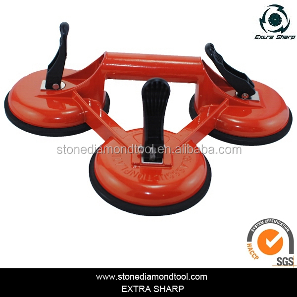 Triangle Suction Cup Glass Carrier Dent Puller Handle Glass ...
