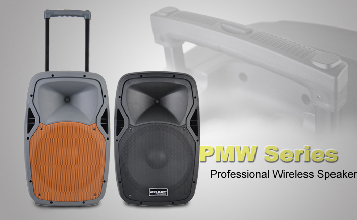 15 Inch Public Address System Active Pa Speaker Pmw15dhma-bt-led ...