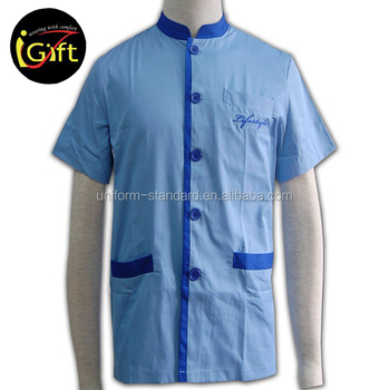 0ea33f5e37ed Customize Hotel Cleaner Workwear Uniform Work Apparel - Buy Hotel ...