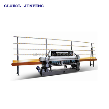 JFB-371 Automatic glass mosaic mirror beveling edging machine factory in China