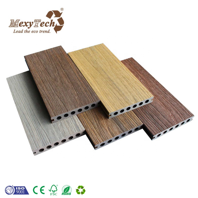 Great Anti-UV Capped Composite Decking for Engineered Outdoor Flooring