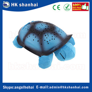 new products 2016 soothing nightlight baby sleeping plush light toy battery operated plush turtle with 4 Light Music Turtle Lamp