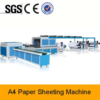 Automatic High Speed China A4 Size Paper Cutting Machine