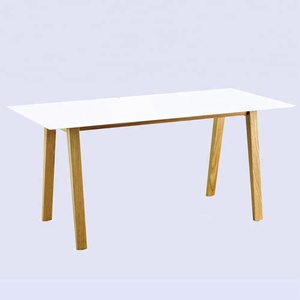 ash straight long study computer table desk
