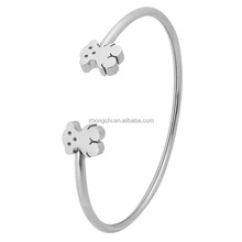High Quality Stainless Steel Plain Bangle With Unique Design Fashion jewelry