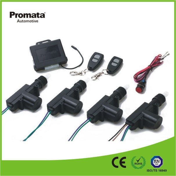 Remote car central locking system for automotive parts