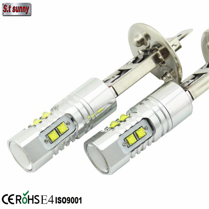China Factory Promotion 12v h1 9006 yellow h3 fog light bulbs car led lamp 50w driving auto bulb