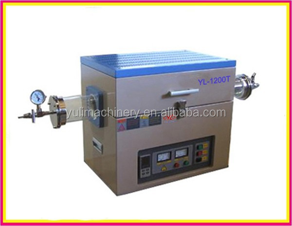 Factory Supply 1200 Degree Laboratory Tube Furnace, Vacuum Tube Furnace