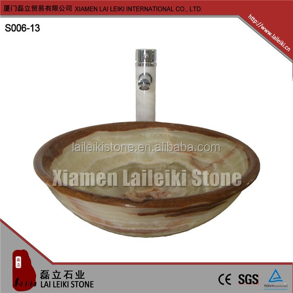 Long service life red granite marble bath toilet sink