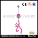 India style multicolor navel rings wholesale fashion dangle belly button ring