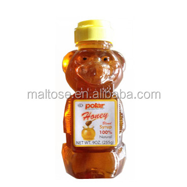 hot PROMOTION bear bottle honey blend syrup in bear