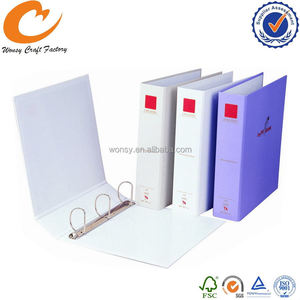 Top grade best selling pu leather business card ring binder