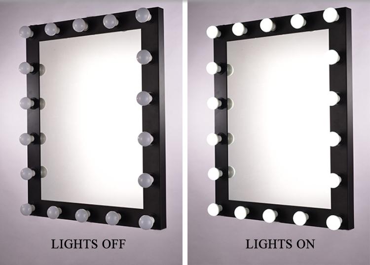 espejos de maquillaje con luces