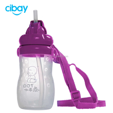 Personalized Safety Plastic Silicone Baby Sippy Cup