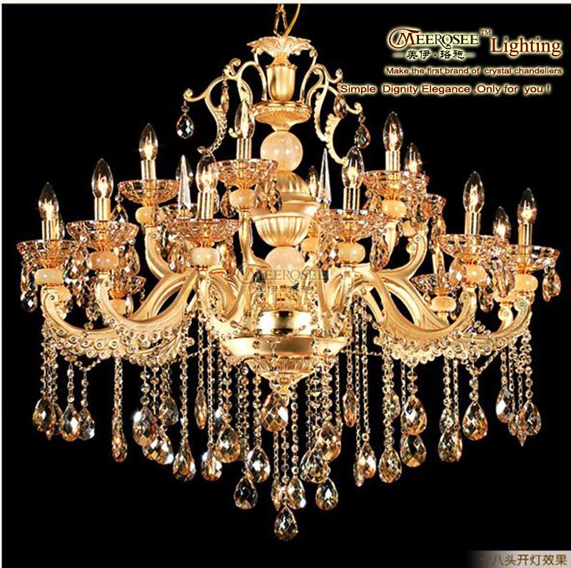 Luxury Hotel Crystal Chandelier Lusters Light,Luster Light Fixture ...