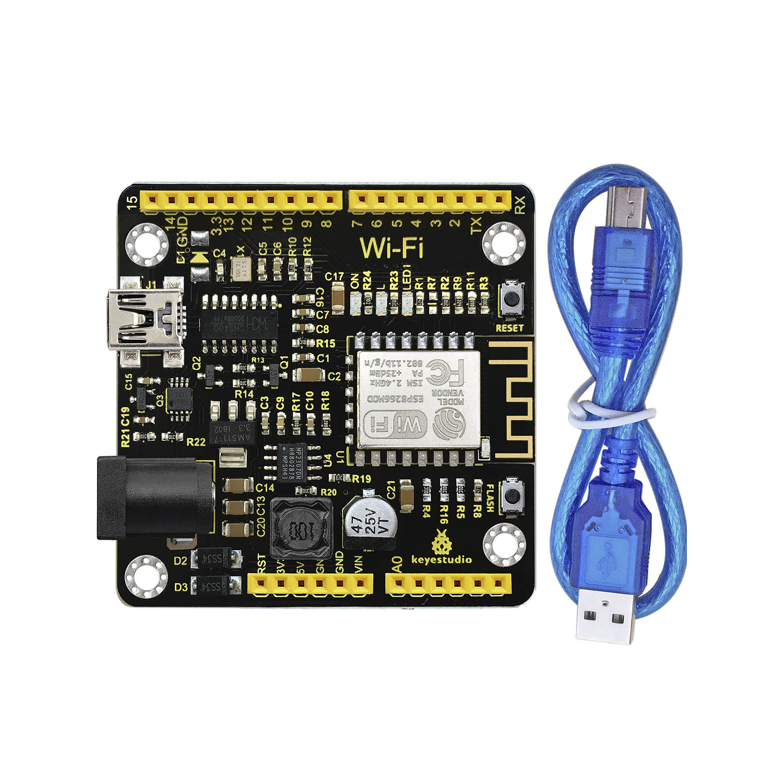 Keyestudio Relay Shield Esp8266 Wifi Module Development Board For Arduino -  Buy Esp8266 Wifi Development Board,Bluetooth Module,Esp8266 Wifi Product