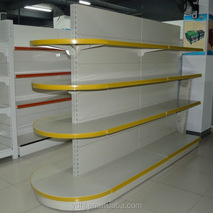 Half round head candy shopping shelf rack