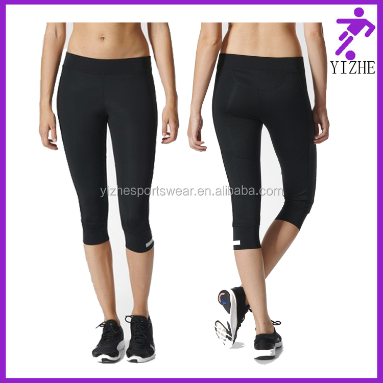 High quality Mesh Private label Yoga Fitness Wear Women Sexy Black Tight