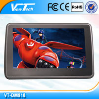 Dongguan cheap price car rear seat monitor with UP to down adjustable bracket