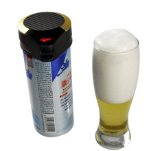 Draft beer tower drink dispenser palm size beer foam maker new arrival in 2018
