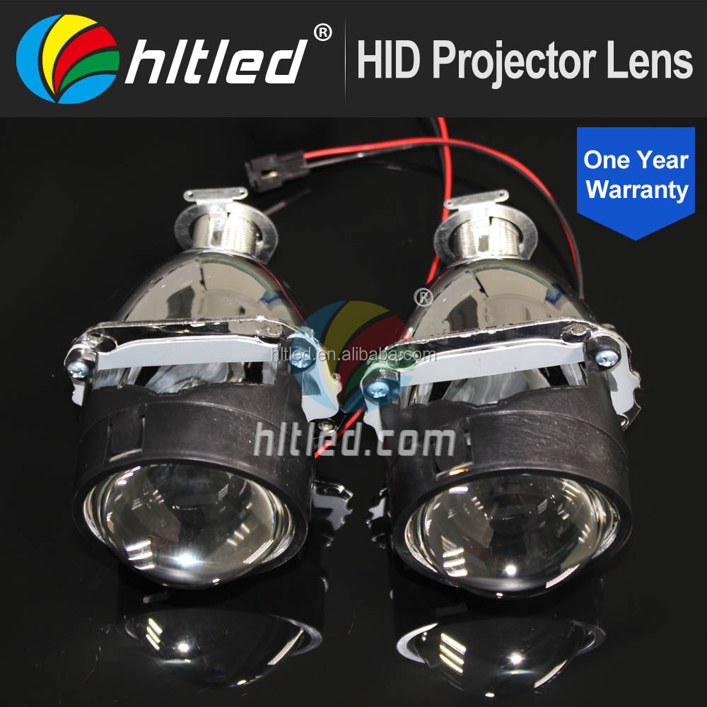 DC11V / 24V 2.5 inch hid bi xenon projector lens light projector lens kit h4 with h1 bulb type