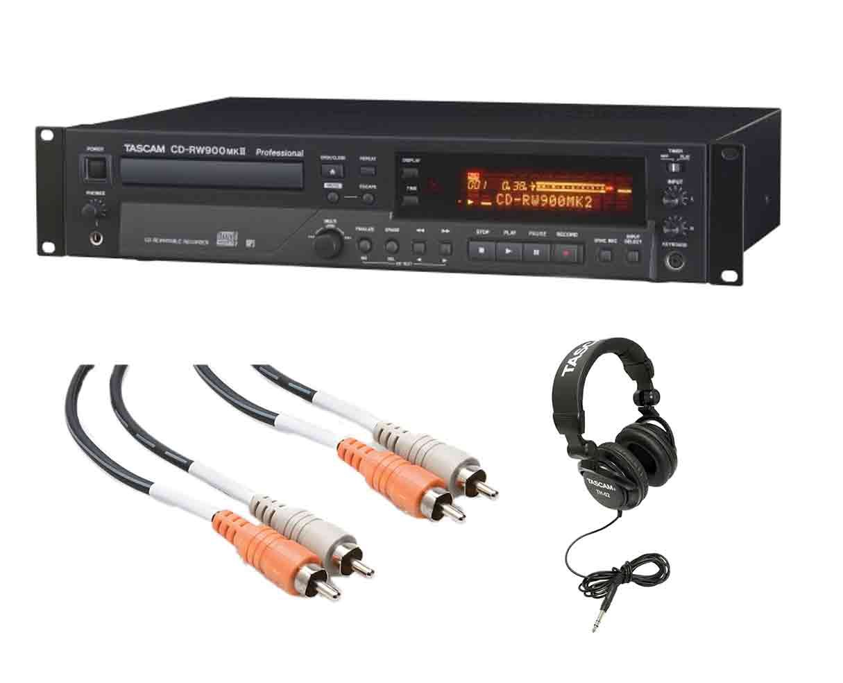 Buy TASCAM CD-RW900mkII Professional CD Recorder in Cheap
