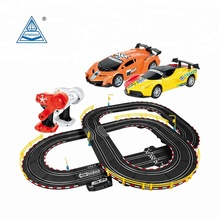 Soba 4.6M 1:43 slot hand-powered racing track car toy gift set track racer
