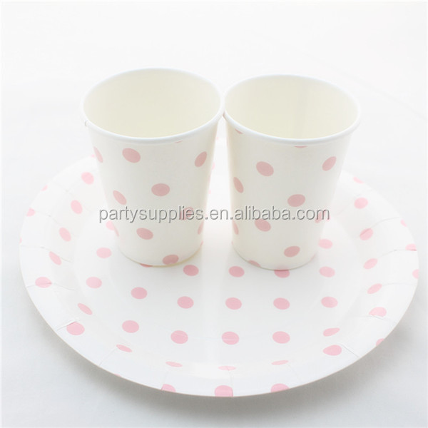 Baby Pink Polka Dot Dinner Set Of Straw Plate Cup - Buy Disposable Paper TablewarePaper PlatePaper Cup Product on Alibaba.com & Baby Pink Polka Dot Dinner Set Of Straw Plate Cup - Buy Disposable ...