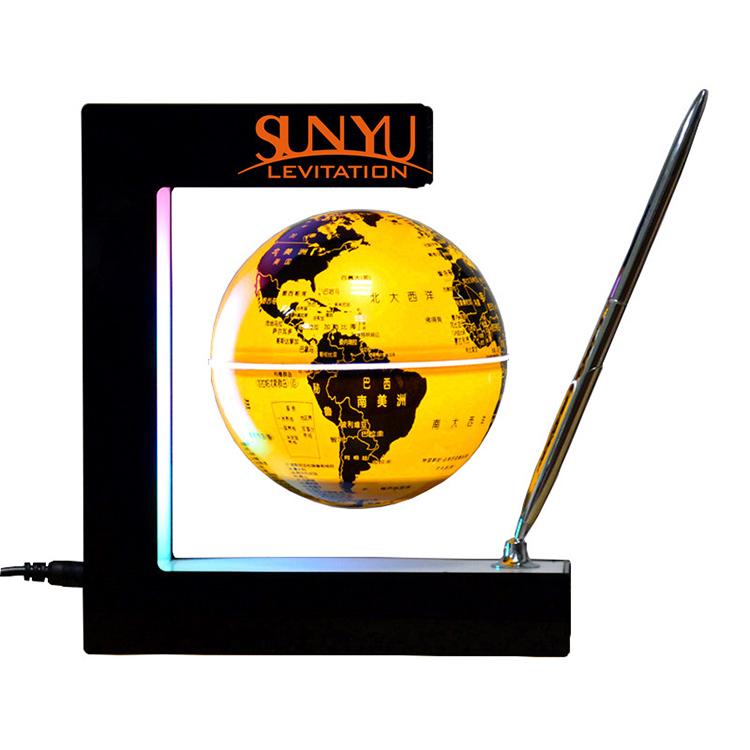驚くべき美術館で地球儀を表示する、 磁気浮上回転地球儀、 スーパーサイズのマップ・大地球儀/big磁気浮上磁気浮上
