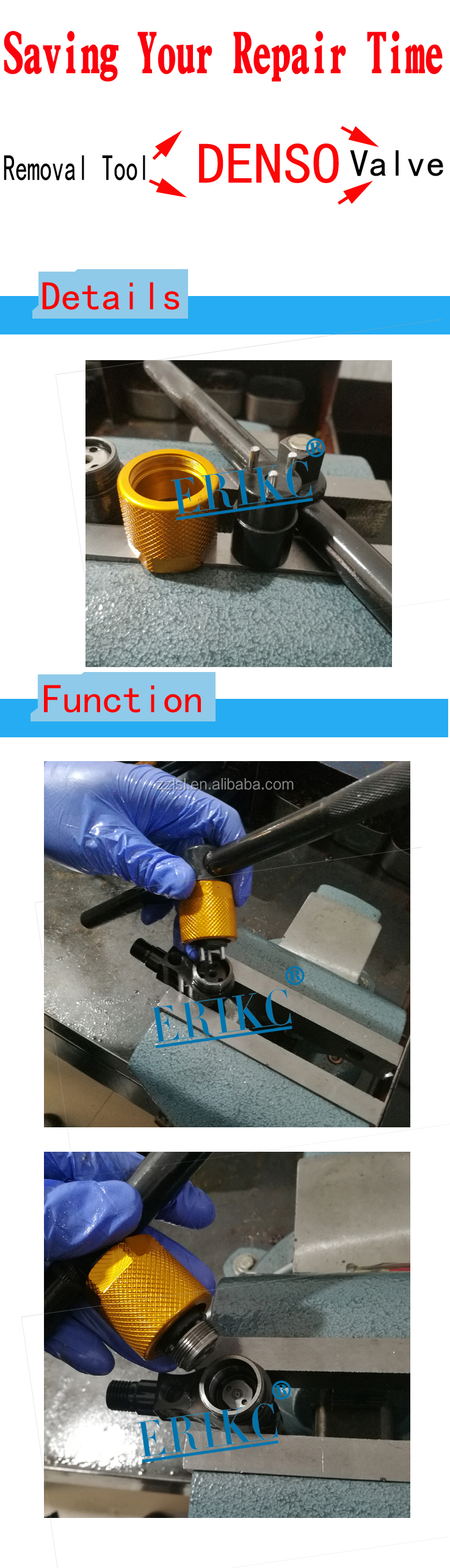 ERIKC cr injector removal tool diesel engine tool