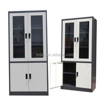 Modern Office glass swing door metal file cabinets parts