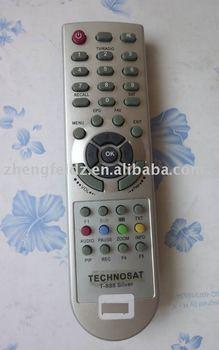 Tv Remote Control For Middle East Market Black - Buy For Technosat T-888  Silver Color Remote Control For Videocon Tv Series,Dubai Market Remote