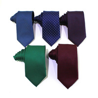 Best quality cheap men promotion polyester paisley ties