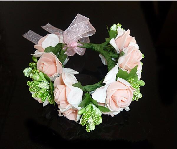 Floral Wrist Flower Girl Garland Garlands Crown Of Flowers For ...