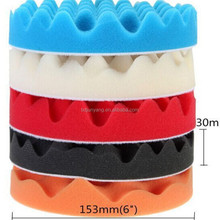 Durable factory directly supply foam polishing wheel/sponge polishing disc/car buffing and polishing pads